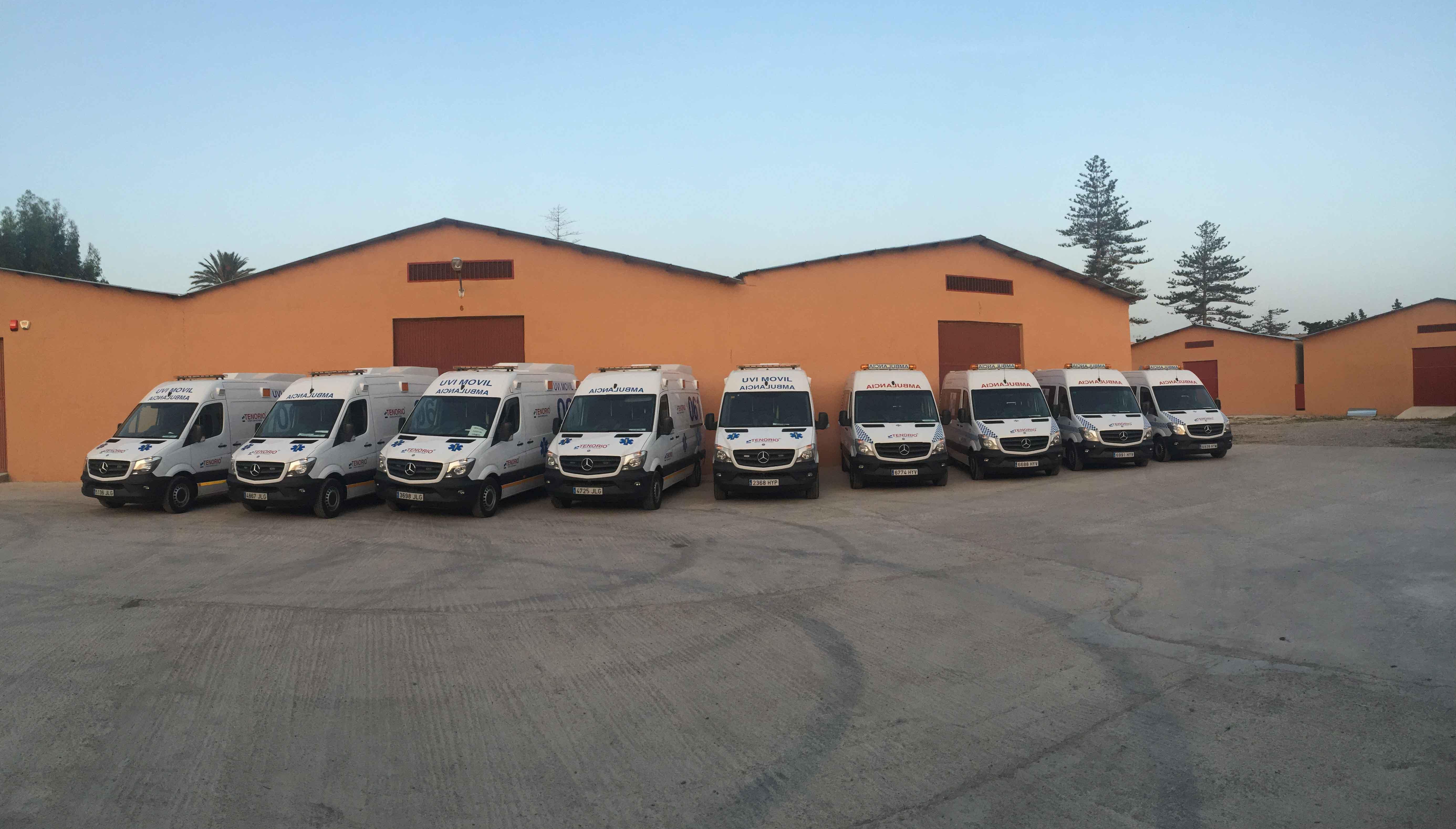 Ambulancias Tenorio e Hijos S.L. comienza a prestar los servicios de transporte en ambulancia para el INGESA en Melilla