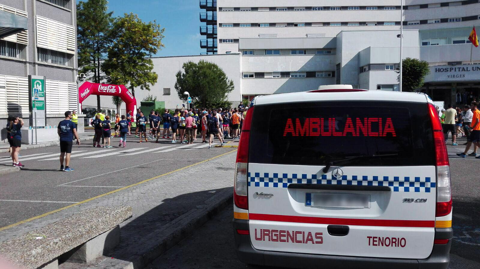 Exitosa V Carrera Popular 'En Marcha por la Salud' en la que Ambulancias Tenorio ha colaborado