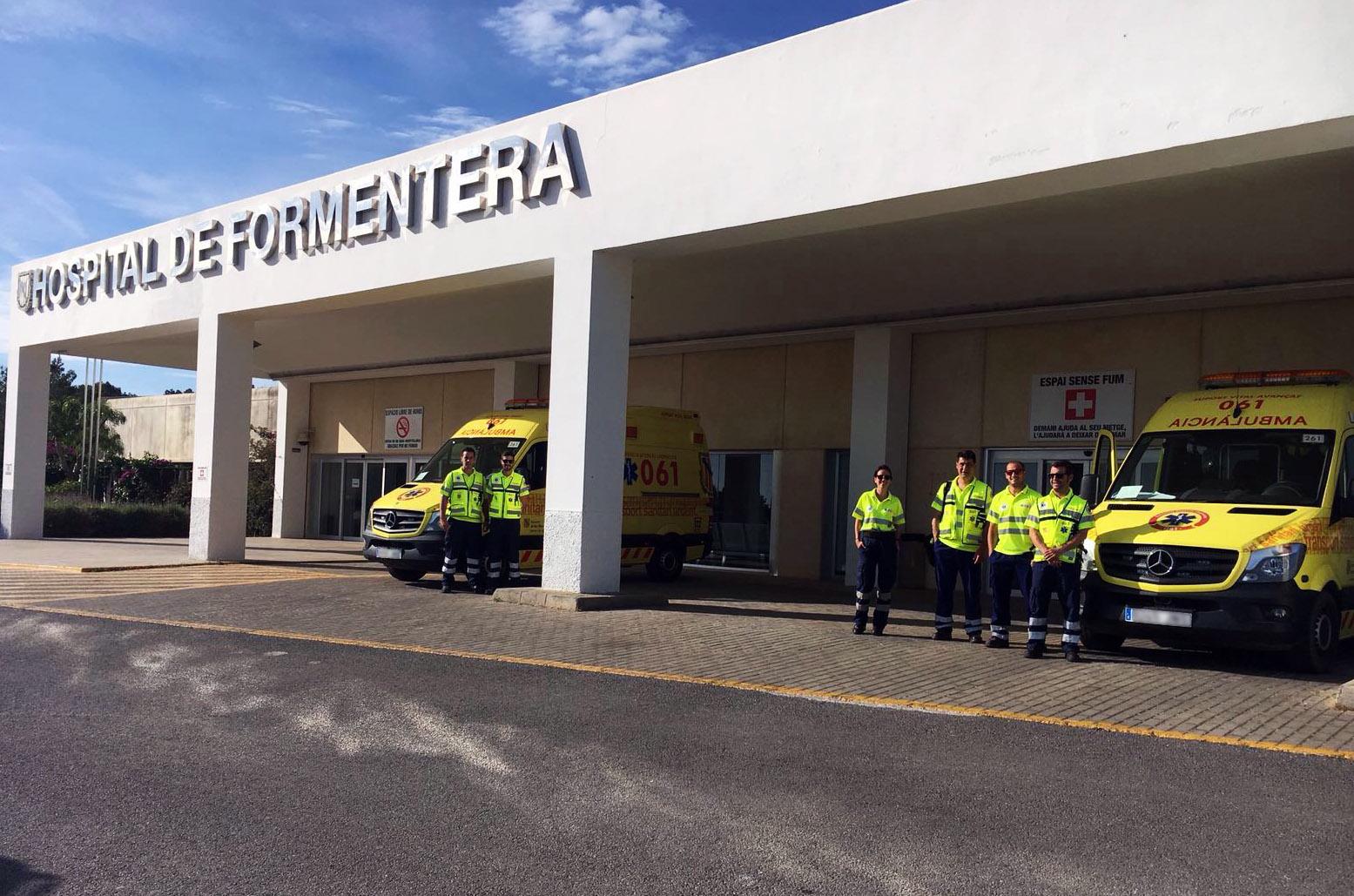Mención especial para el equipo de Ambulancias Tenorio de Formentera en la III Jornada de la Salud