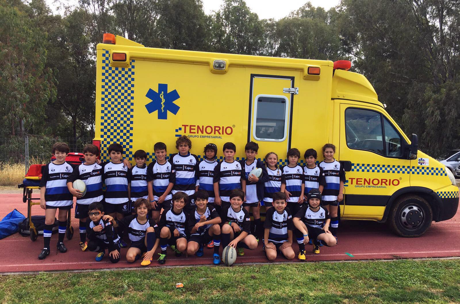 Ambulancias Tenorio estuvo presente en El 6º Encuentro Ibérico de Rugby